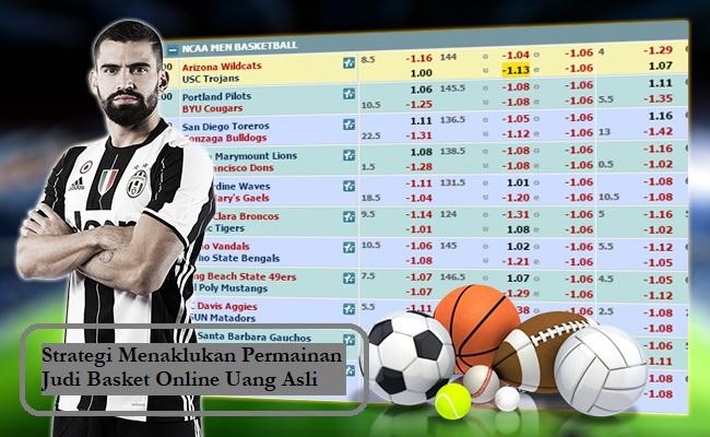 Strategi Menaklukan Permainan Judi Basket Online Uang Asli